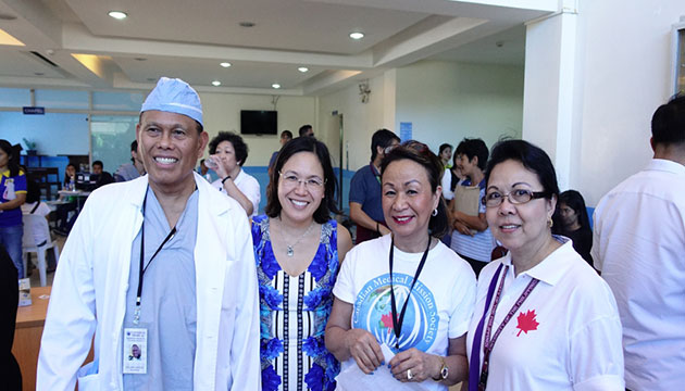 Canadian Medical Mission Society  heals thousands in the Philippines