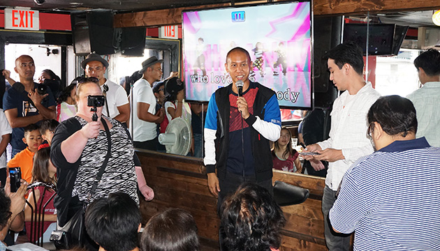 Fil-Can Viral Sensation Mikey Bustos Comes Home